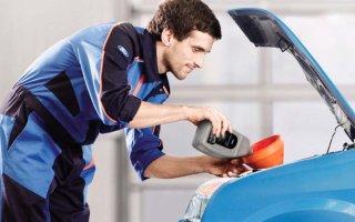 Замена масла в автомобильном дизельном двигателе: инструкция