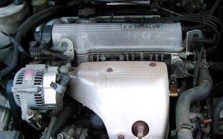 Причина синего дыма из выхлопной трубы двигателя 3s-fe?